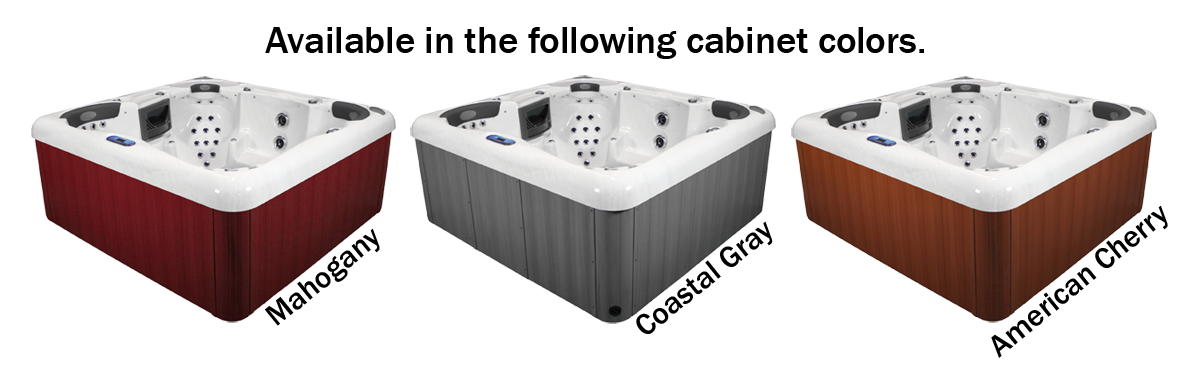 Alps Spas Cabinet Colors