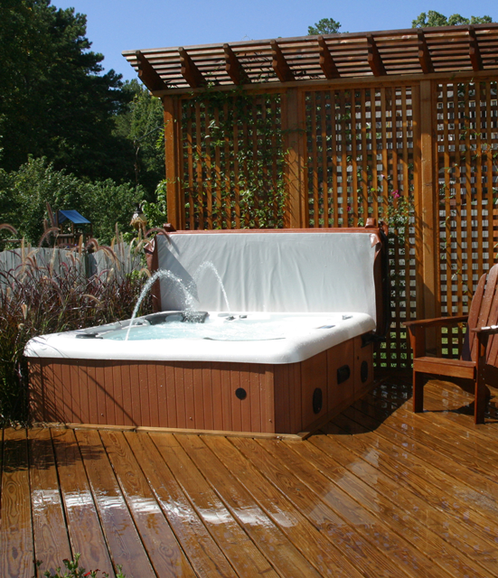 Hot Tub Indoor vs. Outdoor | Alps Spas